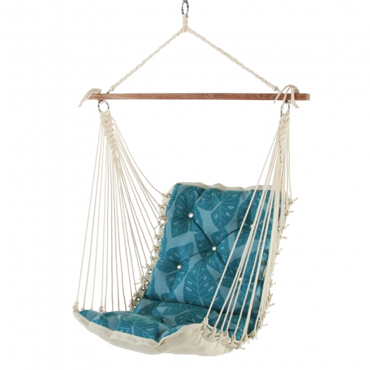 Tufted Single Swing - Radiant Lagoon