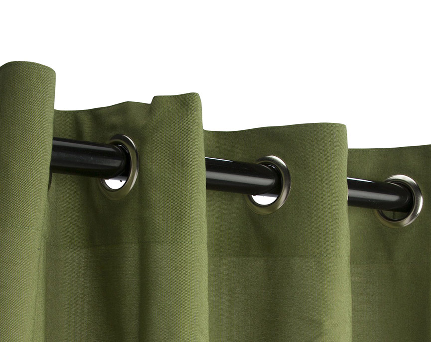Grommeted Outdoor Curtains